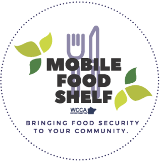 Mobile Food Shelf logo